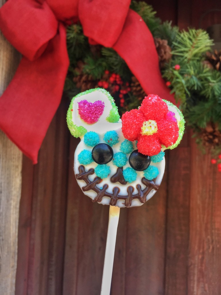 Minnie Mouse Dia de Los Muertos Cake Pop from Pooh Corner