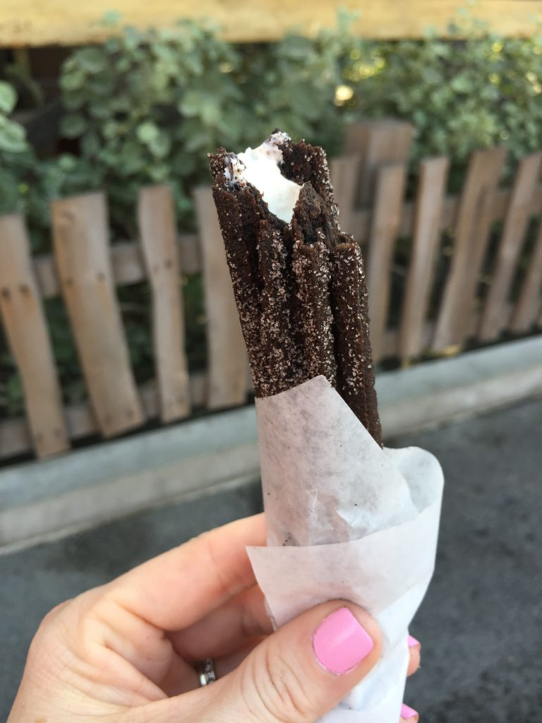 Cookies N Cream Churro from Cozy Cone Motel