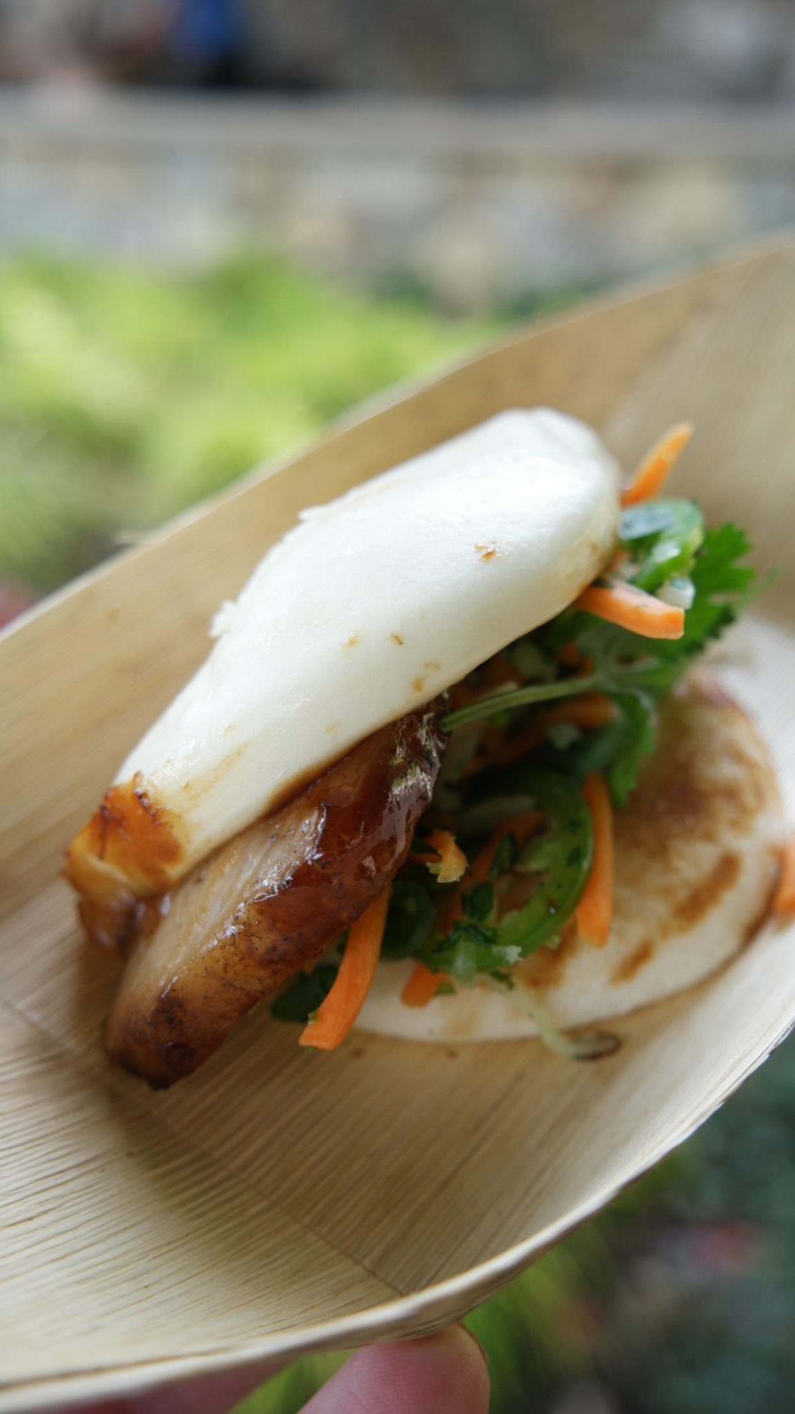 Pork Belly Bao Taco