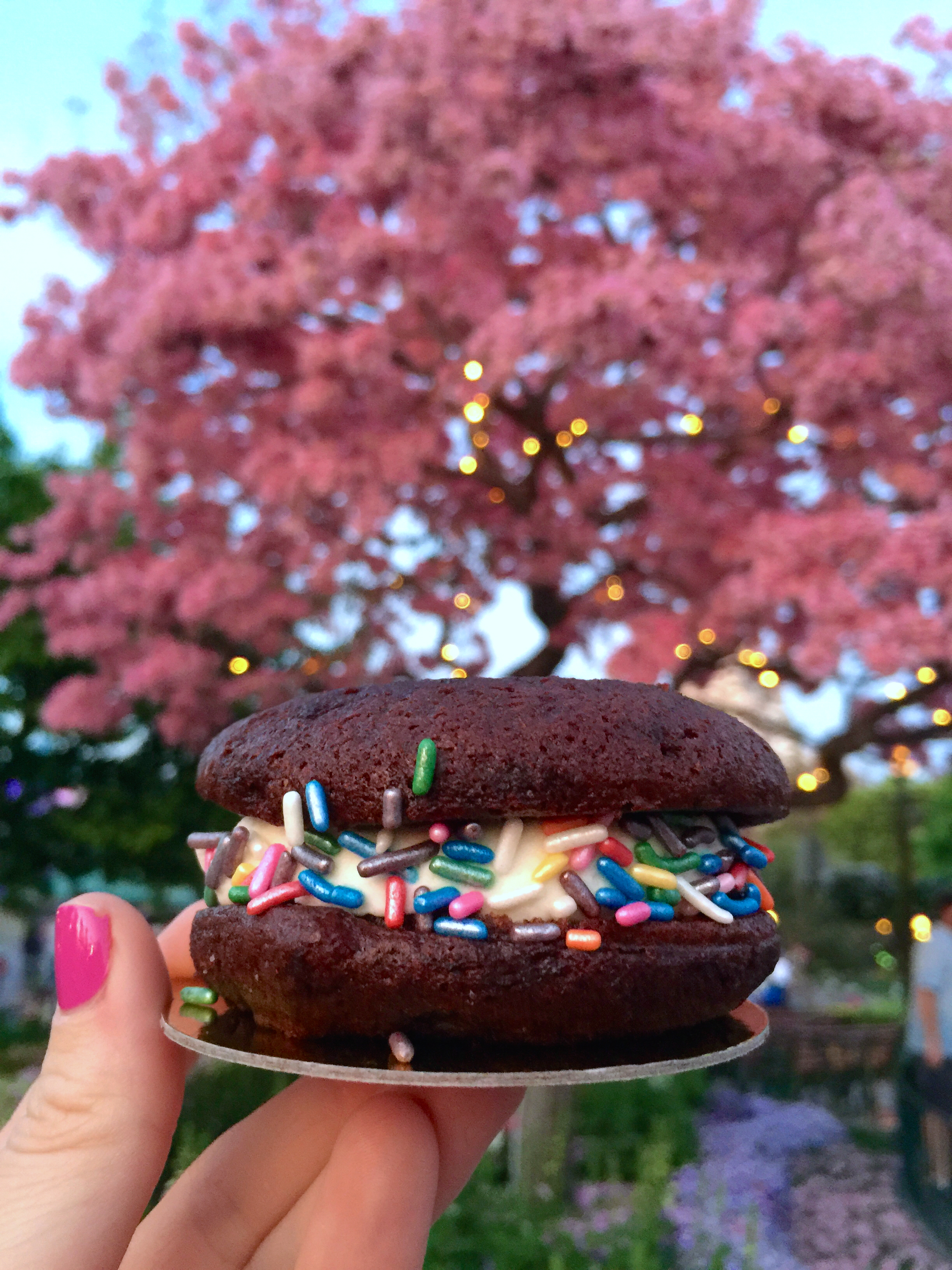 White Chocolate Whoopie Pie from Jolly Holiday Bakery Cafe