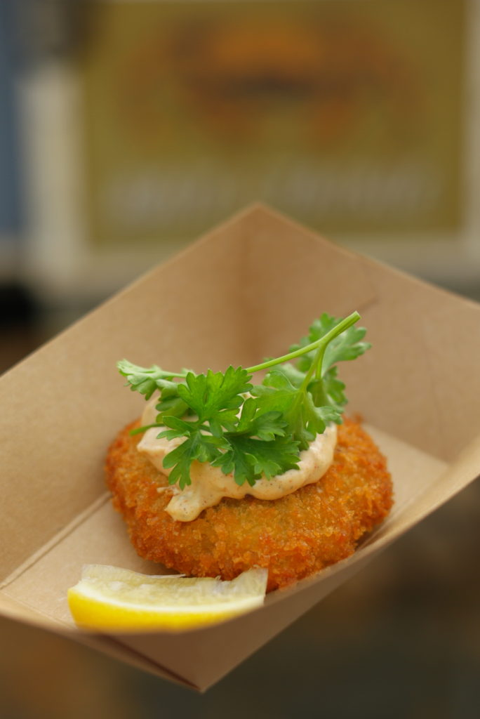 Classic Crab Cake from Mistletoe Morsels