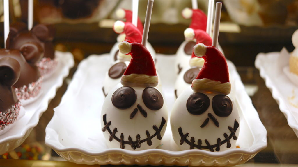 Jack Skellington Specialty Apples
