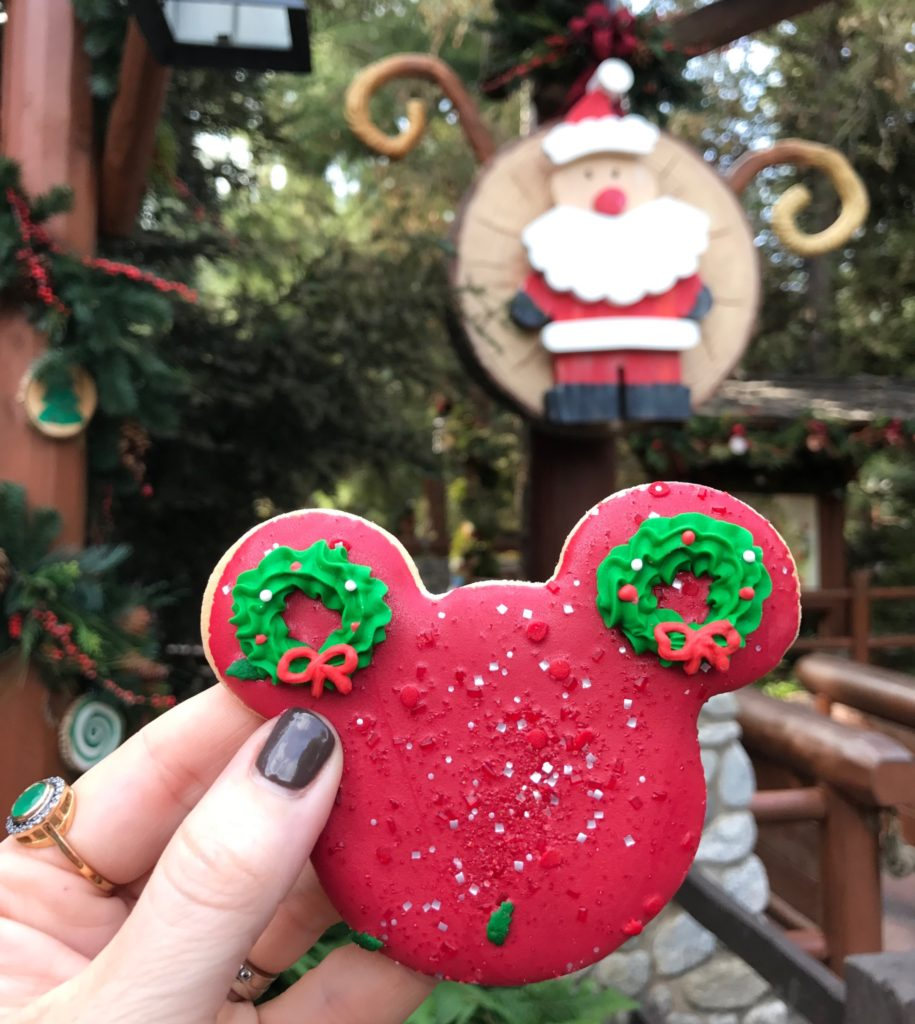Mickey Sugar Cookie from Treats For Santa