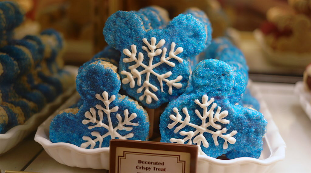 Snowflake Crispy Treats