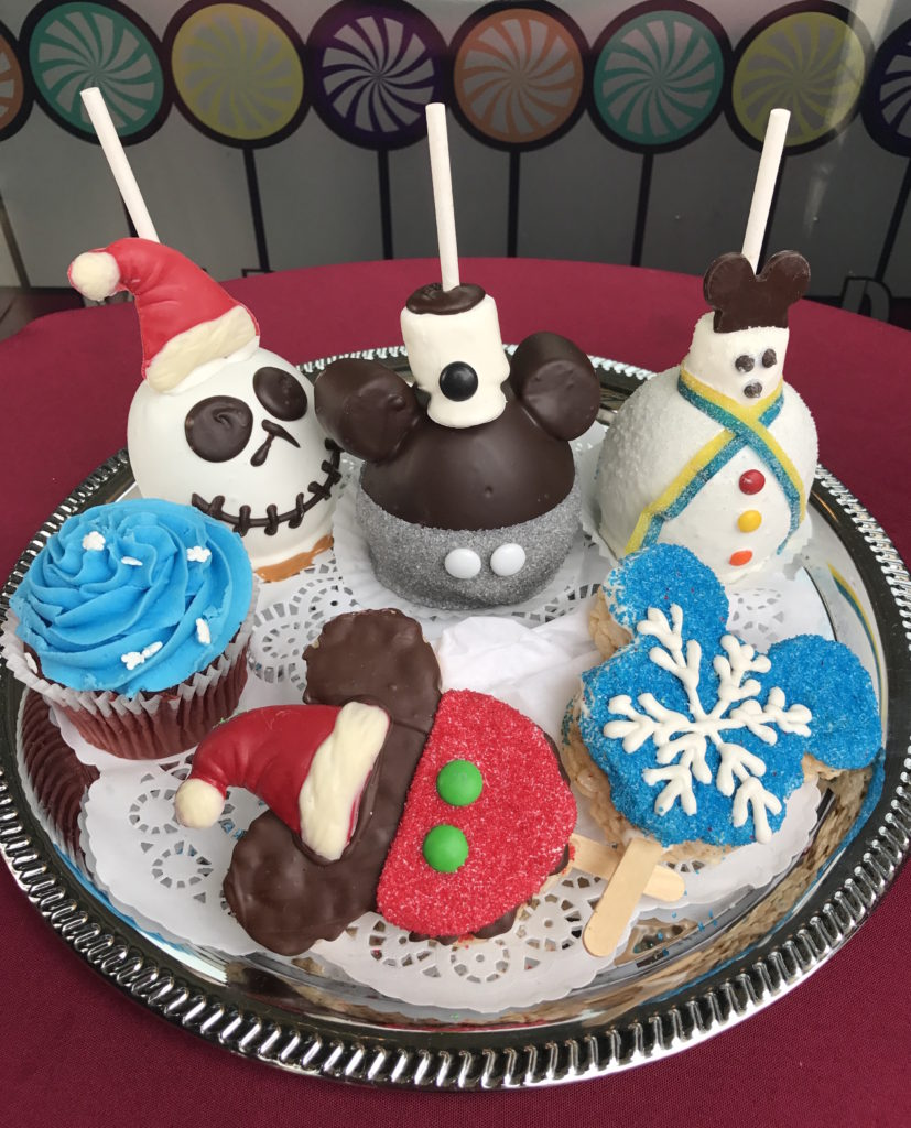 Holiday treats on display